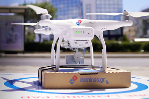 Domino's Pizza delivery by drone